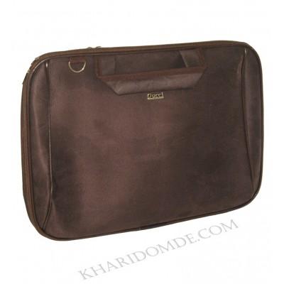 کیف لپ تاپ 15.6 اینچی دستی بند دار جیر مارک Gucci قهوه ای