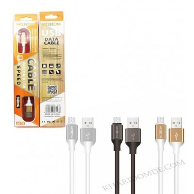 کابل شارژ Fast USB مدل MOXOM CC-23