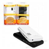 پاور بانک 3 پورت MOXOM مدل 15000maH سفید