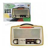 رادیو طرح قدیمی شارژی بلوتوثی رم و فلش خور Vanmaax مدل SB2026