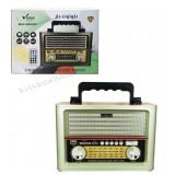 رادیو طرح قدیمی شارژی بلوتوثی رم و فلش خور Vanmaax مدل SB2029