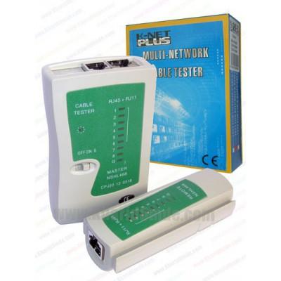 تستر کابل شبکه Knet Plus مدل NS-468 کد 001