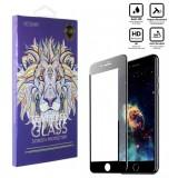 محافظ گلس صفحه نمایش 5D مناسب برای گوشی Iphone 7 Plus مشکی