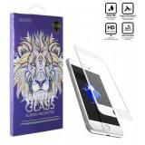 محافظ گلس صفحه نمایش 5D مناسب برای گوشی Iphone 7 Plus سفید
