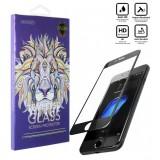 محافظ گلس صفحه نمایش 5D مناسب برای گوشی Iphone 8 Plus مشکی