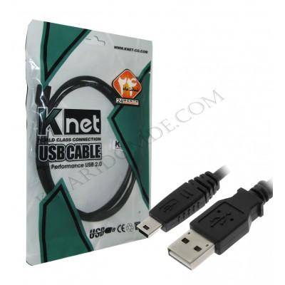 کابل دوربین و موبایل 5 پین (ذوزنقه ای) Knet