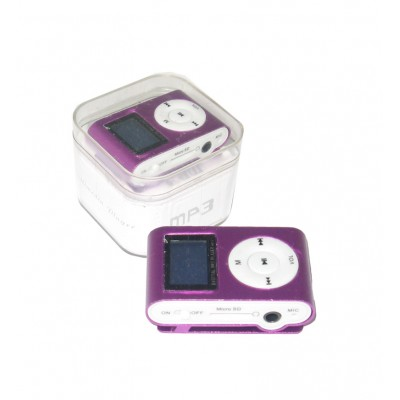 MP3 پلیر LCD دار رم خور کد 029 بنفش