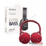 هدفون بلوتوث رم خور Sony مدل MDR-XB950BT قرمز