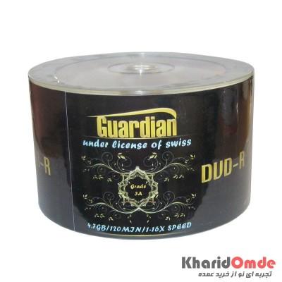DVD خام Guardian شرینگ 50 تایی
