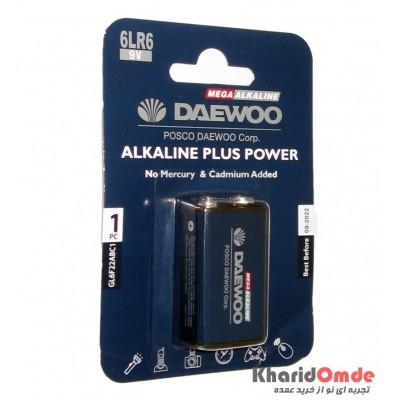باتری کتابی مگا آلکالاین Daewoo مدل 6LR6