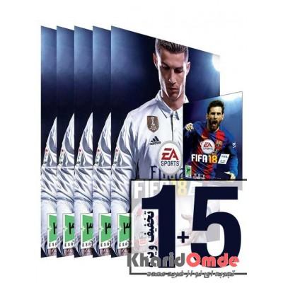 بسته 5 + 1 Fifa 2018
