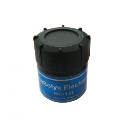 خمیر سیلیکون قوطی طوسی رنگ مدل HC-151