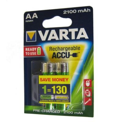 باتری قلمی شارژی VARTA مدل ACCU 2100mAh