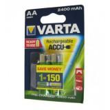 باتری قلمی شارژی VARTA مدل ACCU 2400mAh