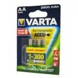 باتری قلمی شارژی VARTA مدل ACCU 2600mAh