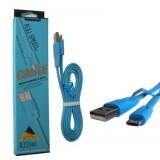 کابل Micro USB پک بلند FASHION آبی کد 315