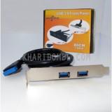 باکس اینترنال اسلت دار USB3.0 دو پورت Wipro مدل BET-2PCIU3