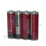 باتری قلمی 4تایی maxell مدل R6P AA