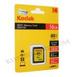 رم دوربین KODAK مدل 16GB SD UHS-I U1 580X