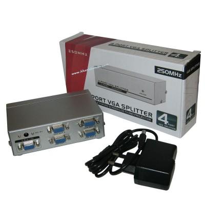 اسپلیتر VGA چهار پورت V-net