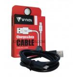 کابل 1.2 متری V-net Micro USB مشکی