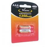 باتری نیم قلمی شارژی Venous مدل PVBSH10 1350mAh