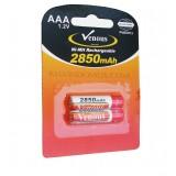 باتری نیم قلمی شارژی Venous مدل PVBSH12 2850mAh