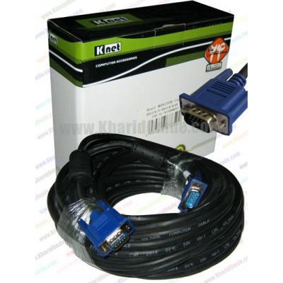 کابل VGA طول 15 متر Knet