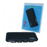 هاب 7 پورت اولترا اسلیم USB 2.0 کد 040