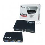 مانیتور سوئیچ 1 به 2 دستی V-net VGA