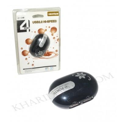هاب 4 پورت USB2 مدل HT-124B