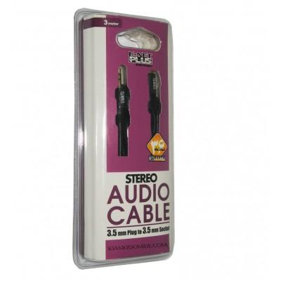 کابل افزایش طول صدا 3 متری Knet Plus