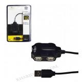 هاب 4 پورت Venous USB مدل PV-H186