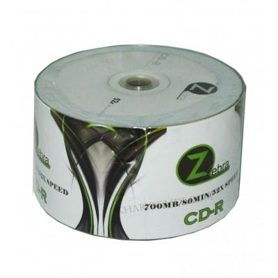 CD خام Zebra شرینگ 50 تایی