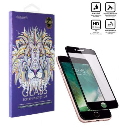محافظ گلس صفحه نمایش 5D مناسب برای گوشی Iphone 8 سفید