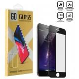 محافظ گلس صفحه نمایش 6D مناسب برای گوشی Iphone 8 Plus مشکی