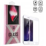 محافظ گلس صفحه نمایش 6D مناسب برای گوشی Iphone 7 سفید