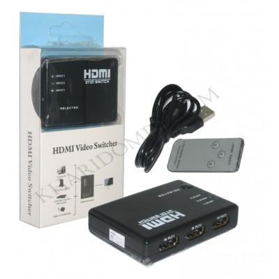 سوئیچ HDMI سه پورت Wipro