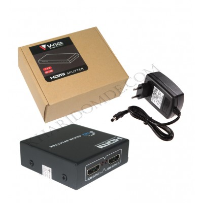 اسپلیتر 2 پورت V-net HDMI 4K 2K 1.4