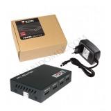 اسپلیتر 4 پورت V-net HDMI 4K 3D 2K 1.4
