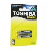 باتری نیم قلمی آلکالاین TOSHIBA AAA