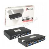 مانیتور سوئیچ 4 پورت V-net VGA
