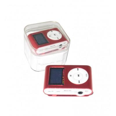 MP3 پلیر LCD دار رم خور کد 029 قرمز