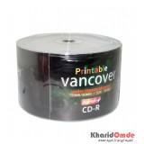 CD خام پرینتیبل Vancover شرینگ 50 تایی