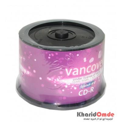 CD خام Vancover باکس 50 تایی
