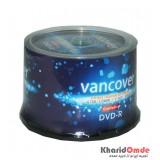 DVD خام VANCOVER باکس 50 تایی