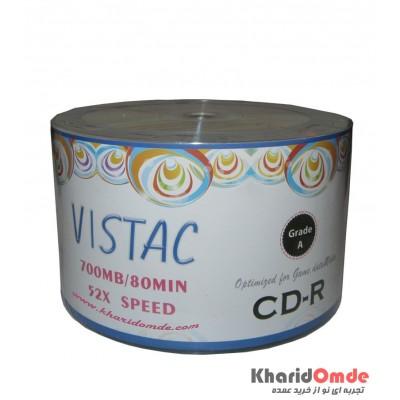 CD خام VISTAC شرینگ 50 تایی