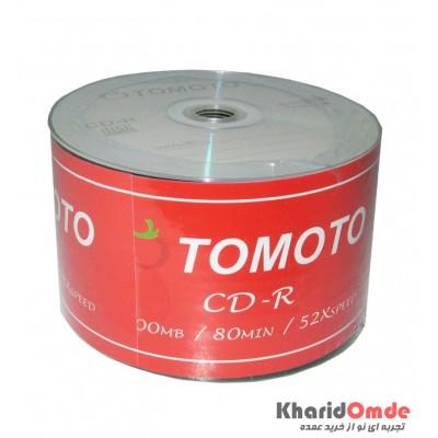 CD خام TOMATO شرینگ 50 تایی