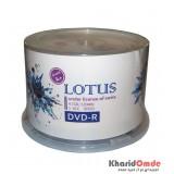 DVD خام LOTUS باکس 50 تایی