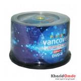 DVD خام پرینتیبل Vancover باکس 50 تایی